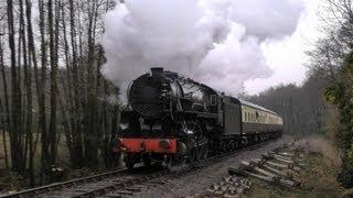 getlinkyoutube.com-USATC S160 No.6046 rumbles the West Somerset Railway