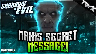 getlinkyoutube.com-Black Ops 3 Zombies - SECRET MAXIS'S AUDIO MESSAGE ON SHADOWS OF EVIL! (Zombies Storyline)