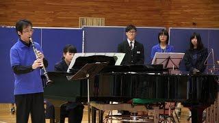 「糸」 中野勝之先生 西根中学校スプリングコンサート