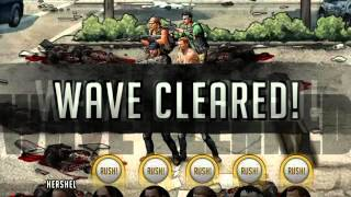 getlinkyoutube.com-Walking Dead:  Road to Survival 15. Central Square - Stage 5