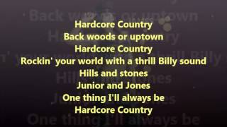 Mickie James   Hardcore Country (Official Lyric Video)