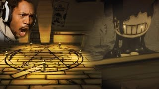 getlinkyoutube.com-WHY EVERY MONSTER GOTTA WORSHIP THE DEVIL!? | Bendy and The Ink Machine (Chapter 1)