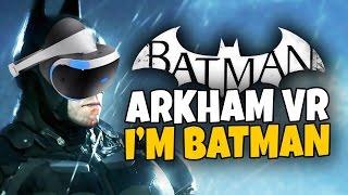 getlinkyoutube.com-I'M BATMAN - Batman Arkham VR - Playstation VR