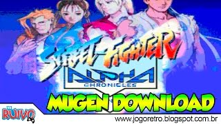 getlinkyoutube.com-Street Fighter Alpha Chronicles MUGEN 2015