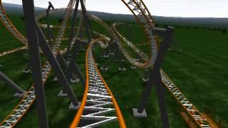 getlinkyoutube.com-Insane Octane (No Limits Coaster)