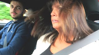 getlinkyoutube.com-MUM DRIVES MY NISSAN GTR + FUNNY ACCELERATION REACTION!!
