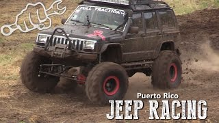 EXTREME JEEP RACING IN PUERTO RICO