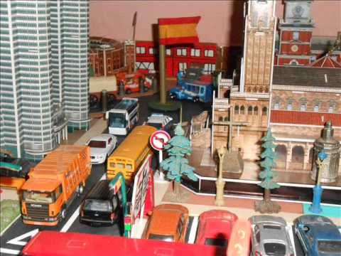 maqueta ciudad city con majorette hot wheels matchbox