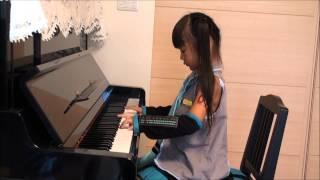 getlinkyoutube.com-『千本桜』 初音ミク ピアノ ☆小学1年生(6歳)