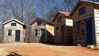 getlinkyoutube.com-$10,000 Tiny House Eco-Village / Mortgage Free, Self Sufficient, Off Grid Community!!!