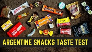 getlinkyoutube.com-Argentine Snacks and Argentinian Candy Taste Test