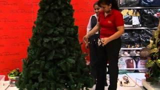 getlinkyoutube.com-Decoración de árboles de navidad 2010 Parte 1