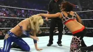 getlinkyoutube.com-ECW (February 5th, 2008) - Layla & Victoria (With Lena Yada) Vs Kelly Kelly & Michelle McCool