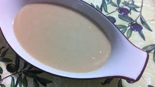 getlinkyoutube.com-طريقة عمل الطحينه الخام How to Make Sesame Seed Paste