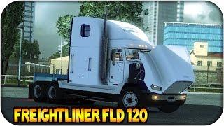 getlinkyoutube.com-Freightliner FLD 120 | Euro truck simulator 2 | 1.11 -- 1.12