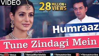 Tune Zindagi Mein Full Video Song : Humraaz   Bobby Deol, Amisha Patel, Akshaye Khanna  