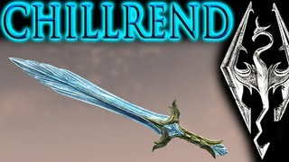 getlinkyoutube.com-Skyrim: Unique Weapon - Chillrend (most powerful sword in main game)