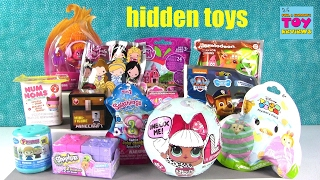 getlinkyoutube.com-Disney LOL Surprise Doll Trolls MLP Shopkins Frozen Blind Bag Opening | PSToyReviews