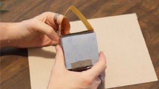 getlinkyoutube.com-How to Make a House Out of Paper for Kids : Paper Crafts