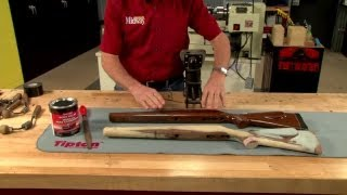getlinkyoutube.com-Gunsmithing - Building a Pattern Stock Presented by Larry Potterfield of MidwayUSA