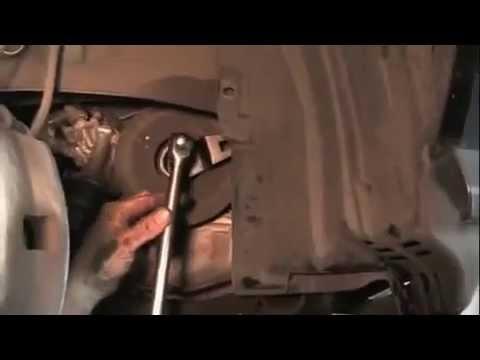 Acura MDX замена ремня грм (снятие)