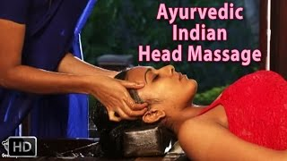 getlinkyoutube.com-Ayurvedic Indian Head Massage - SIRO DHARA - World's best Head Massage for Relaxation & Stress