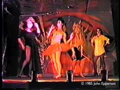 Excerpts from Lypsinka's BALLET OF THE DOLLS, Pyramid Club, 1985