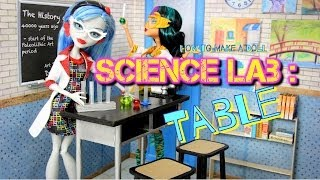 getlinkyoutube.com-DIY - How to Make: Doll Science Lab: BACK TO SCHOOL - Handmade - Doll - Crafts