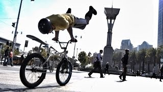 getlinkyoutube.com-Bike Parkour -Streets of San Francisco!