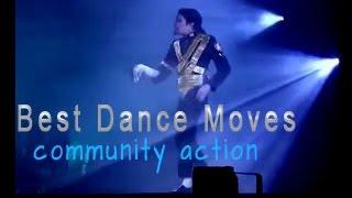 getlinkyoutube.com-BEST DANCE MOVES - Michael Jackson - Part 2