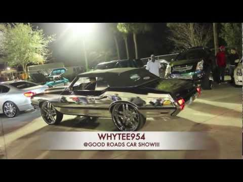 CAR SHOW FOOTAGE @ GOOD ROADS RIM SHOP!!!