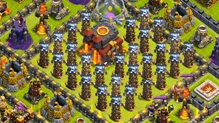 LAYOUT TROLL SANGRENTO - TROLLANDO GERAL NO Clash of Clans