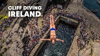 getlinkyoutube.com-Diving from Irish skies - Red Bull Cliff Diving World Series 2014