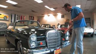 getlinkyoutube.com-Beautiful 1967 Mercedes Benz 250SE Cabriolet for sale with test drive, walk through video