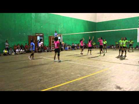 Piala Silva's Bandung Tectona 2013 Ananta Volley Ball Club VS JVC Part 4