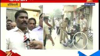 getlinkyoutube.com-Dombivli : Fight Between BJP And MNS 1st November 2015