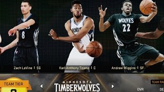 NBA 2K16 PS4 Play Now - Young Timberwolves!