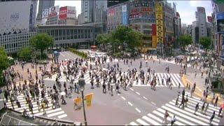 Live Camera at Shibuya Crossing