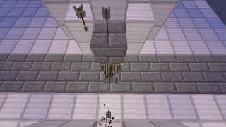 getlinkyoutube.com-Minecraft 対人トラップ 隠し矢連射機付き捕獲扉
