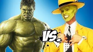 getlinkyoutube.com-Hulk Vs The Mask - Epic Battle