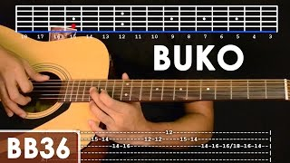 getlinkyoutube.com-Buko - Jireh Lim Guitar Tutorial (includes intro lead and rhythm)