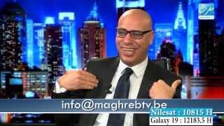 getlinkyoutube.com-التيجيني يحاور بزيز حول السخرية والسياسة - مغرب تفي