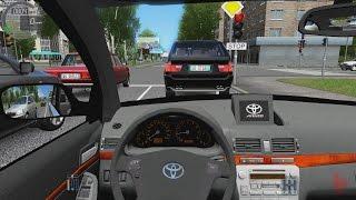 getlinkyoutube.com-City Car Driving - Toyota Avensis