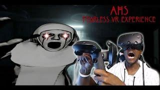getlinkyoutube.com-EERIE & DISTURBING EXPERIENCE    American Horror Story: Fearless VR HTC Vive REACTION