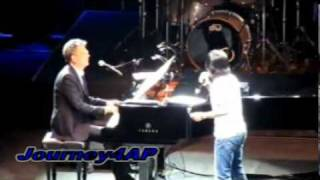 getlinkyoutube.com-ARNEL PINEDA SURPRISED BY PETER CETERA OF CHICAGO ON STAGE - LIVE W/ DAVID FOSTER