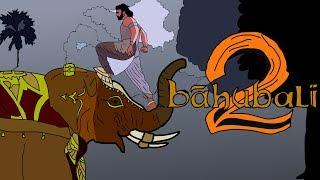 Baahubali 2 - The Conclusion | Animation Trailer | S.S. Rajamouli | Prabhas, Rana | Animation