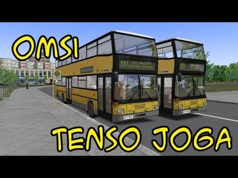 TENSO JOGA: OMSI Simulador de ônibus