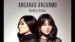 ANGANKU ANGANMU - RAISA FT ISYANA karaoke download ( tanpa vokal ) cover