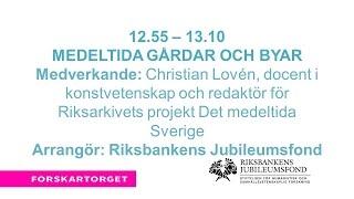 Forskartorget2016 - Medeltida gårdar och byar