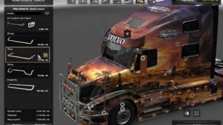 getlinkyoutube.com-[ETS2]Euro Truck Simulator 2 Volvo VNL 780 Reworked V1.26x